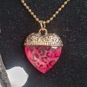 """Other - 4/$24 Statement Piece """"Wild at Heart"""" 18"""" Necklace"""